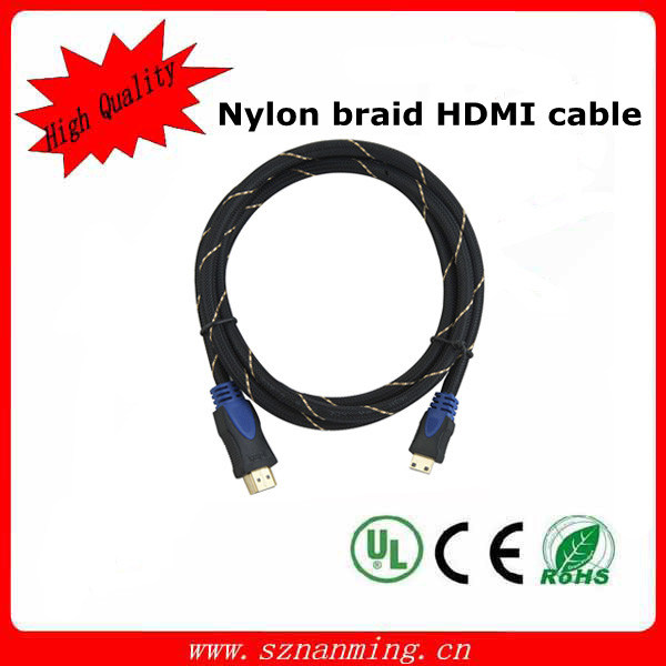 High Quality with 24k Gold Plated 1.4V HDMI Cable pictures & photos