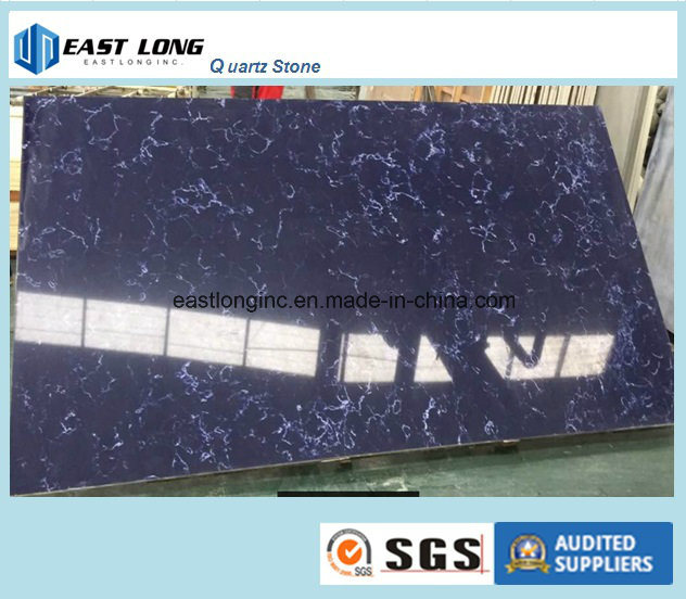 Colourful Quartz Stone Solid Surface for Kitchen Countertop/ Table Top/ Building Material Factory pictures & photos