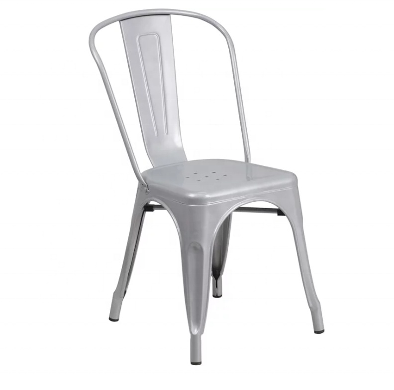 Modern Metal Durable Restaurant Chair