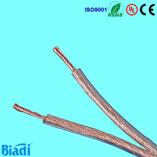 China Transparent Speaker Wire and Cable with OFC or CCA or Tinned ...
