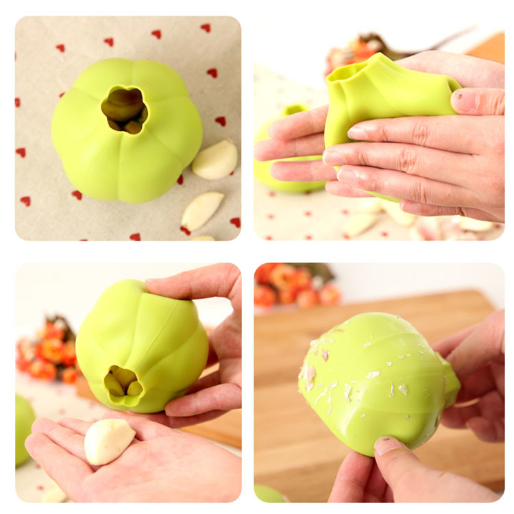 Hot Selling Durable Silicone Garlic Peeler pictures & photos