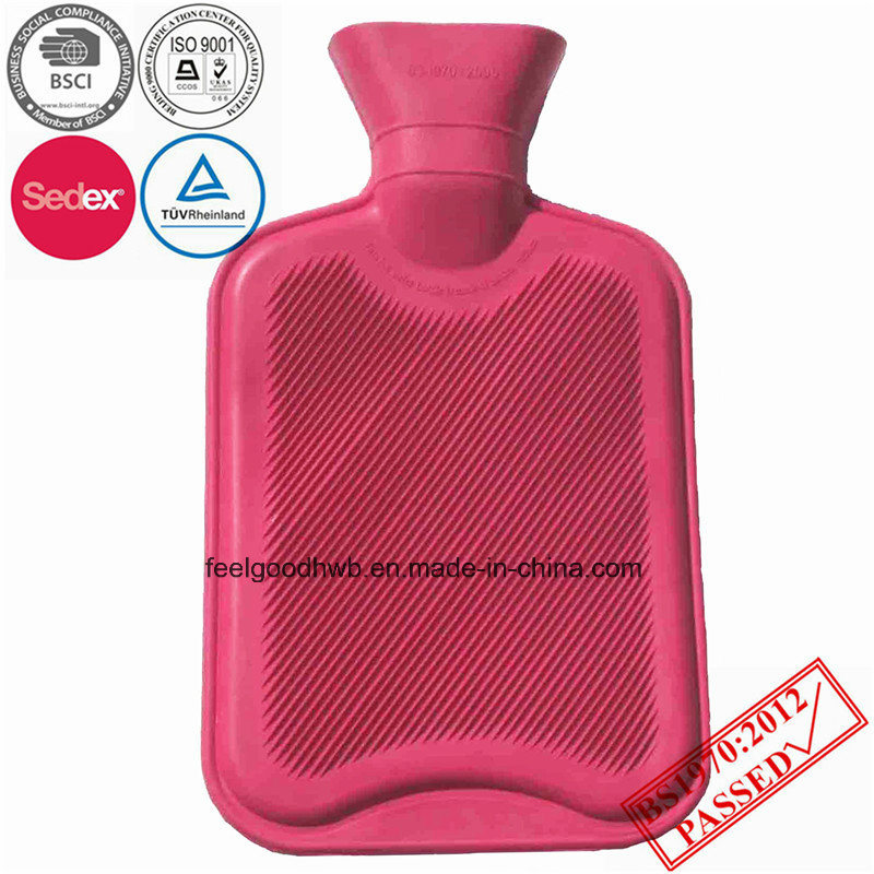 High Quality 1000ml Red Hot Water Bottle