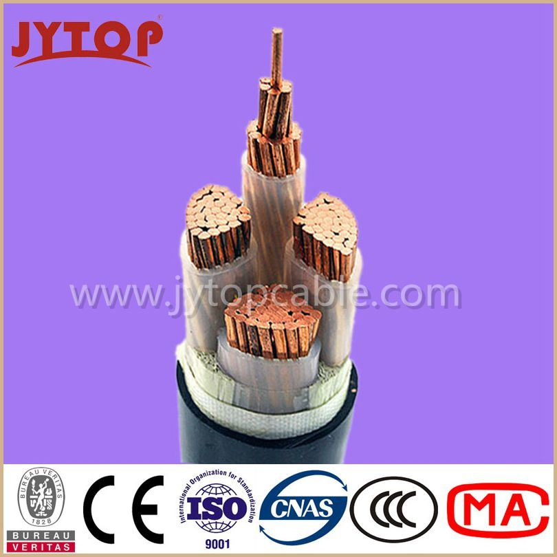 0.6/1kv Electrical Cable 3*185mm2+1*95mm2, Copper Cable, XLPE Insulation, PVC Sheath Power Cable