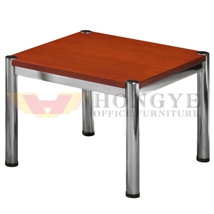China High Class Office Iron Square Small Tea Coffee Table Hy 404 2 China Office Furniture Coffee Desk