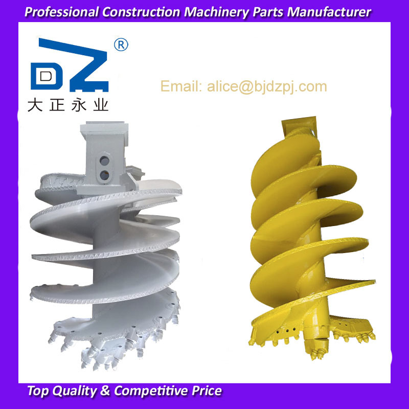 [Hot Item] Earth-Auger Drill Bit Soil Auger for Sany Bauer Piling Rig