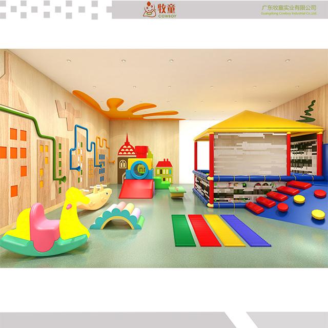 China Child Care Kids Interior Activity Room Design For