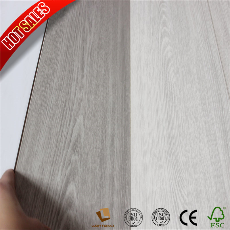 China Plus Canadian Maple Easy Lock Laminate Flooring Hardwood Building Material
