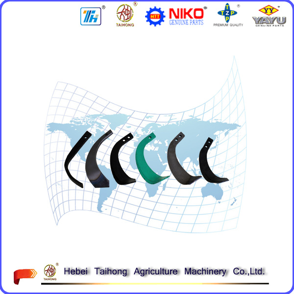 Double/Single Hole Tiller Blade