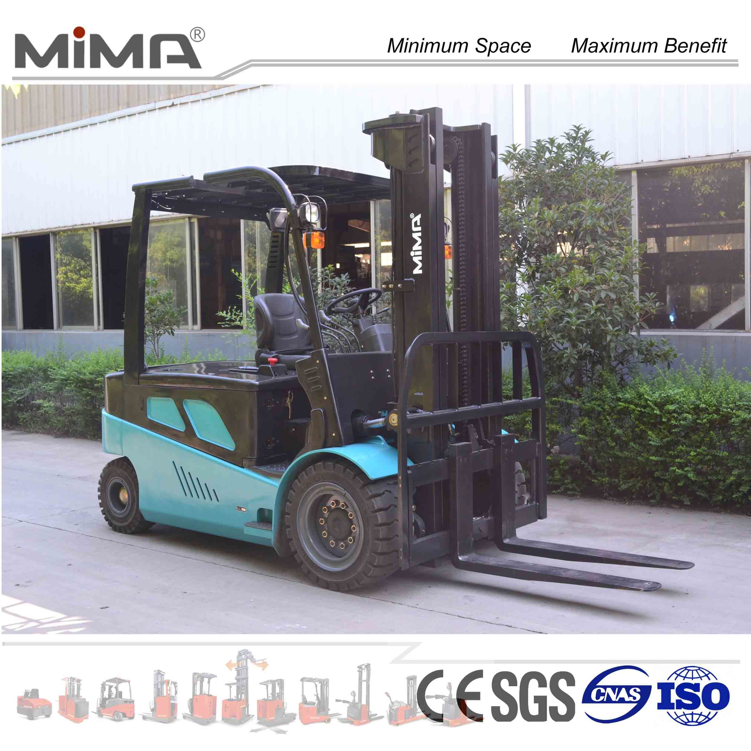 China Counterbalance Forklift Truck With Ce Certificate Tk Model