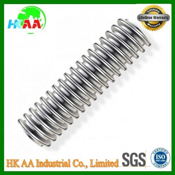 Trapezoidal Carbon Steel C45 Power Lead Screw