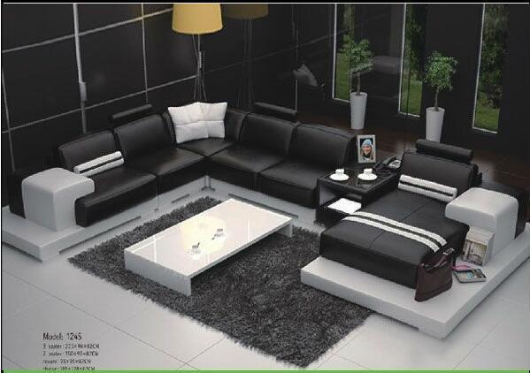 [Hot Item] Hot! ! ! Italy Genuine Leather Corner Sofa, Modern Sofa,  Contemporary Sofa, Sofa Set 1245#