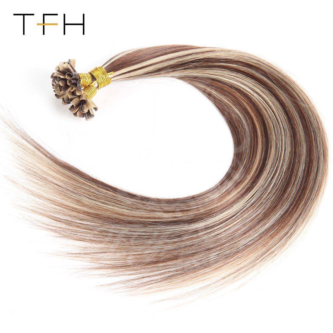 China Double Drawn U Tip Straight Hair Pre Bonded Keratin Remy Hair