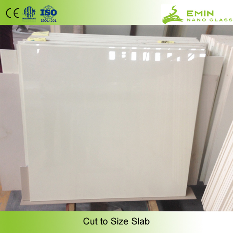 Anti Skid Nano Glass Green Building Material Exterior Wall Tile