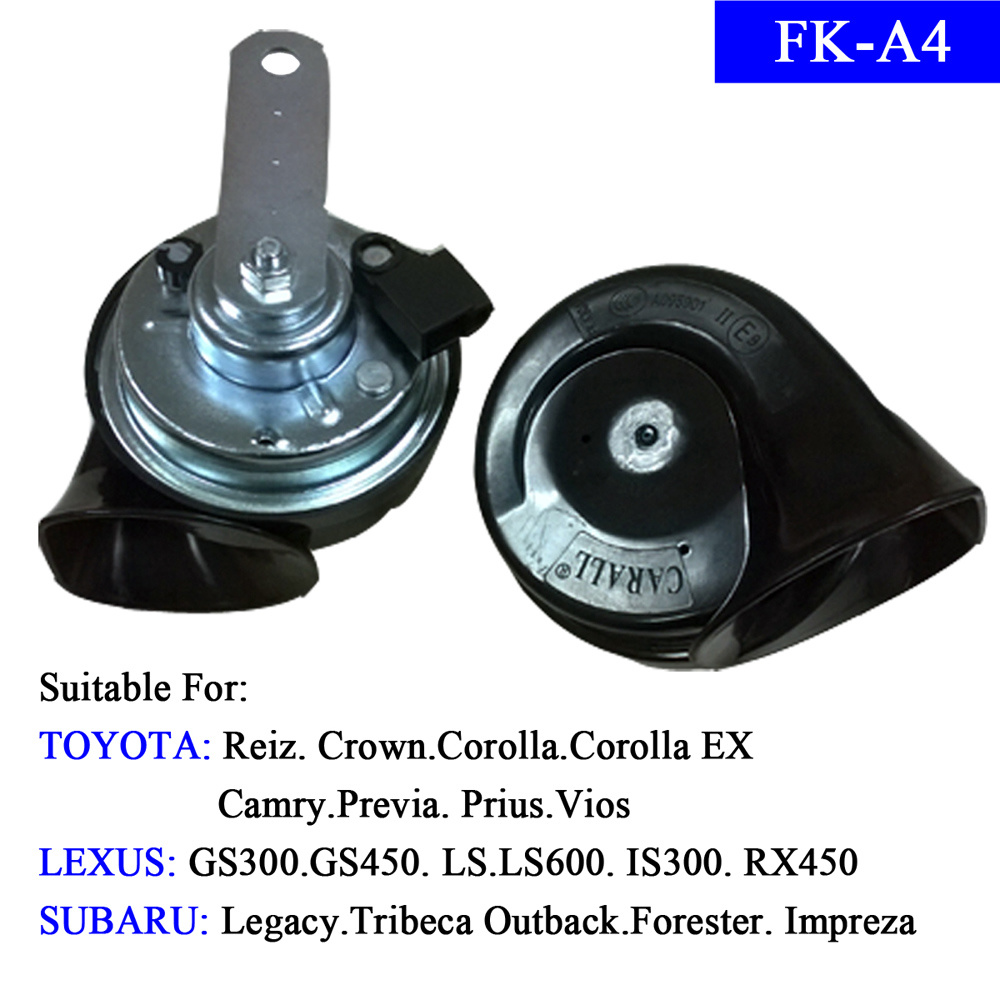 China 12v Denso Horn Electric Super Auto Parts Special For 2000 Subaru Outback Toyota Lexus And Car Speaker