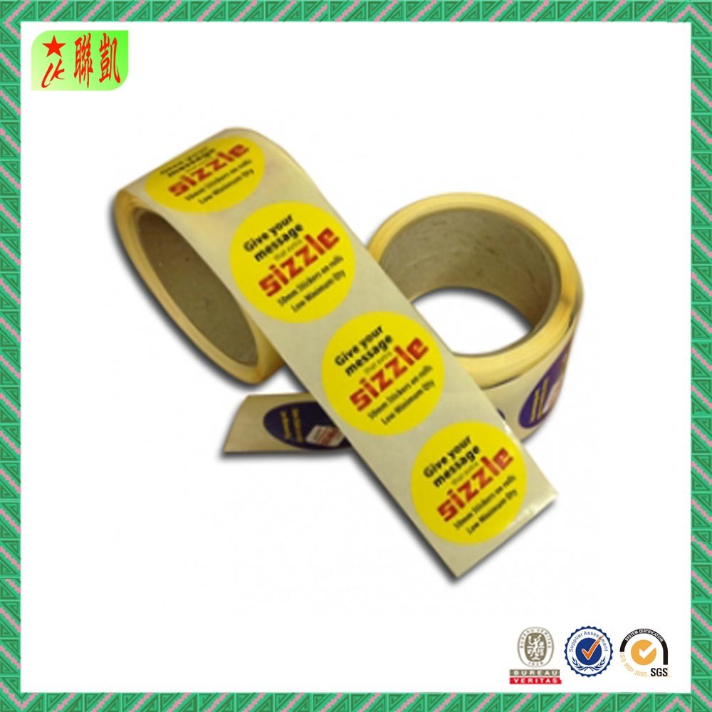 China cheap printed paper sticker labels china paper sticker sticker labels