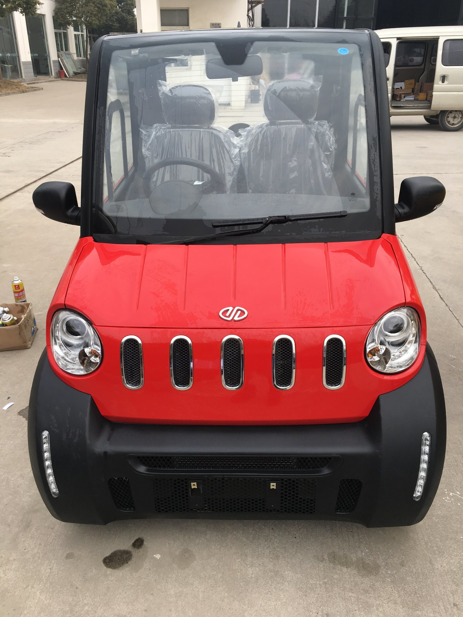 China Low Sd 2 Seater Electric Mini Car With Air Conditioner