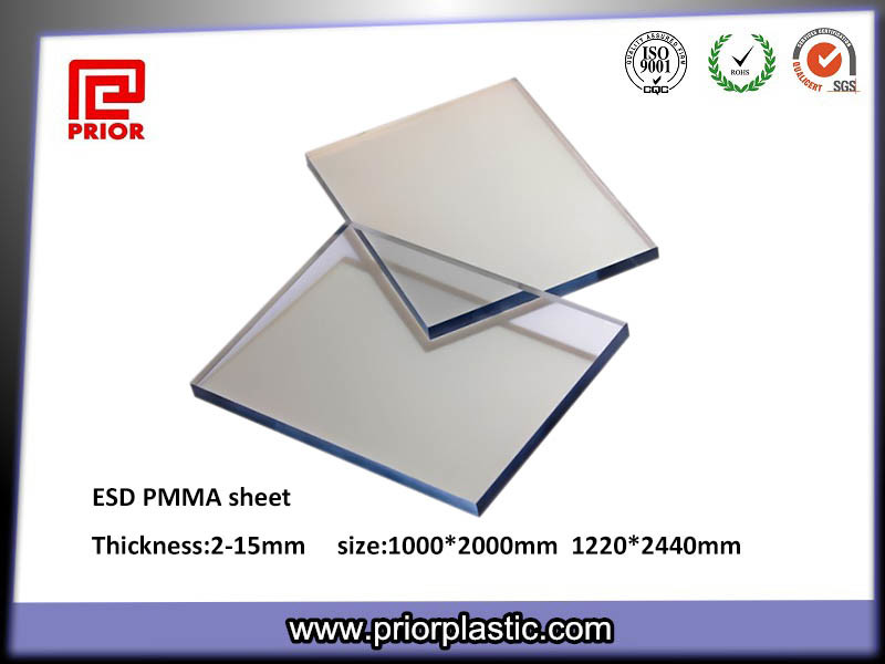 Antistatic Acrylic Board ESD PMMA Sheet