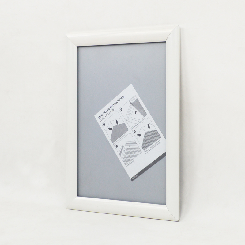 China White A4 Poster Board Wall Mounted Poster Frame - China Poster ...