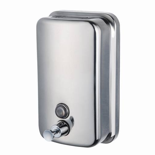 China 800ml Wall Mounting No Lock Hand Wash Manual Stainless Steel
