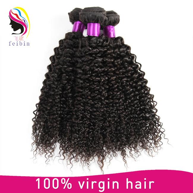 China Cheap Raw 100 Unprocessed Virgin Human Mongolian Afro Kinky