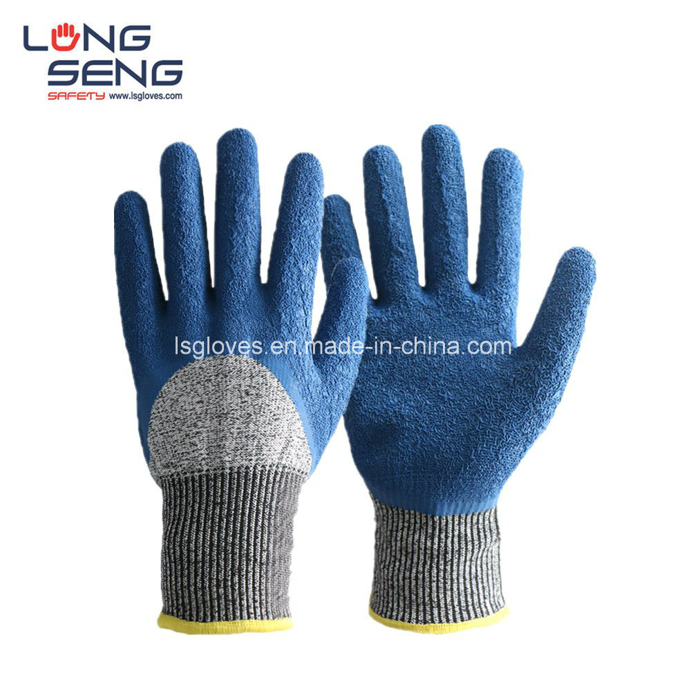 120 L HAND PROTECTION QUALITY LATEX COATED CRINKLE BUILDERS WORK SAFETY GLOVES