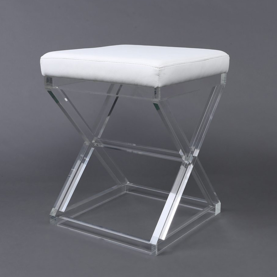 Strange China Backless Party Clear Acrylic Bathroom Stool Photos Pabps2019 Chair Design Images Pabps2019Com