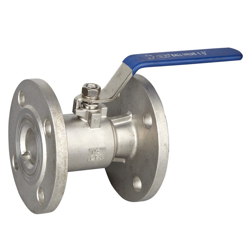 Stainless Steel JIS Flanged Floating Ball Valve with CE Certificate pictures & photos