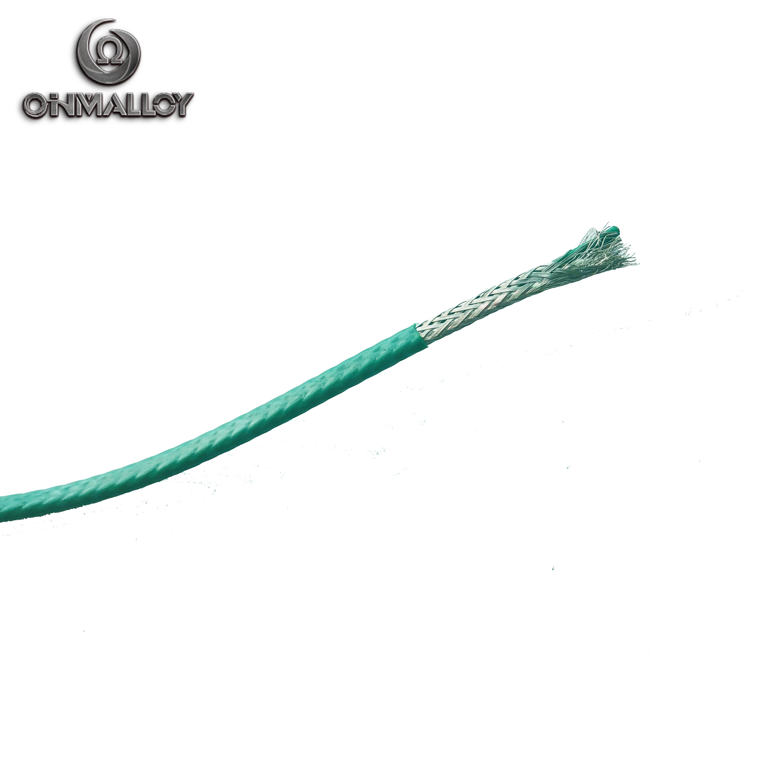 China PTFE/FEP/Fiberglass Insulated Multi-Stranded 19AWG Type-K