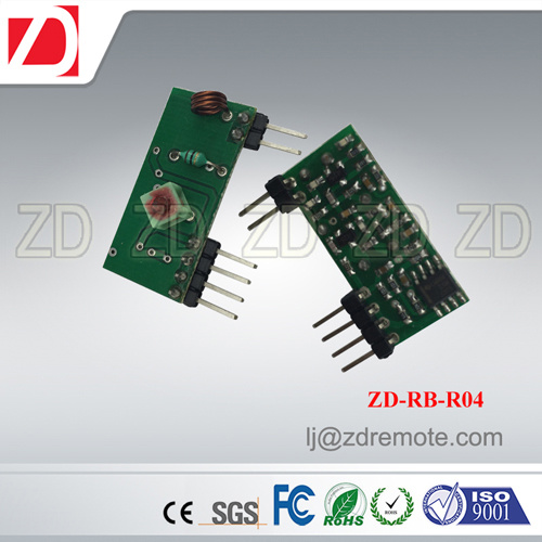 Best Price 433MHz RF Receiver Module Superregeneration for Automation Device Zd-Rb-R01
