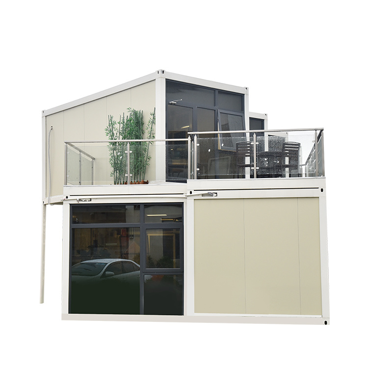 Two Floors Flat Pack Container House