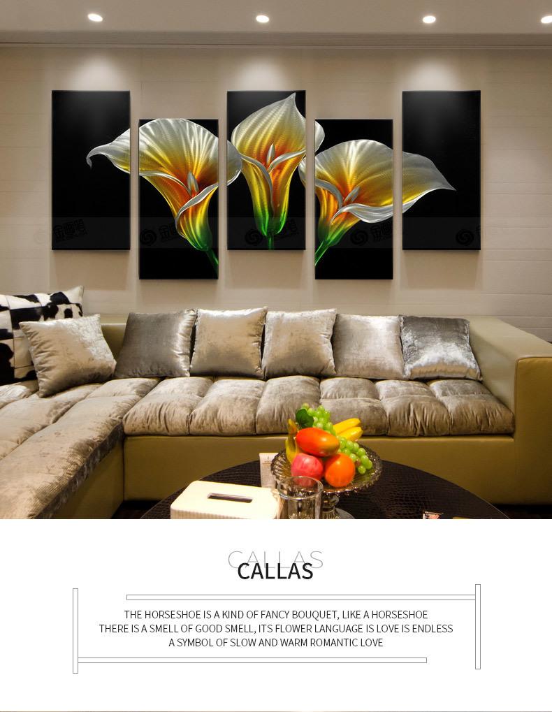 [Hot Item] Beautiful Flower Metal Wall Art - Wall Sculpture, Wall Decor,  Home Accent, Panel Art - Abstract, Modern Contemporary Design
