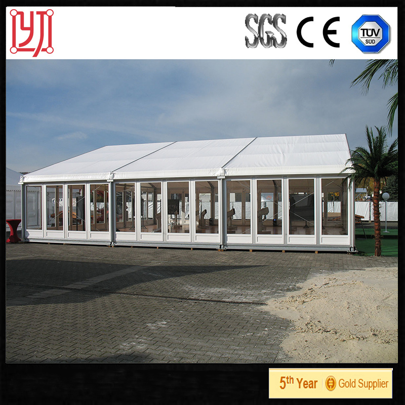 China Big Party Tentwedding Canopyaluminum Door Canopy Glass Side