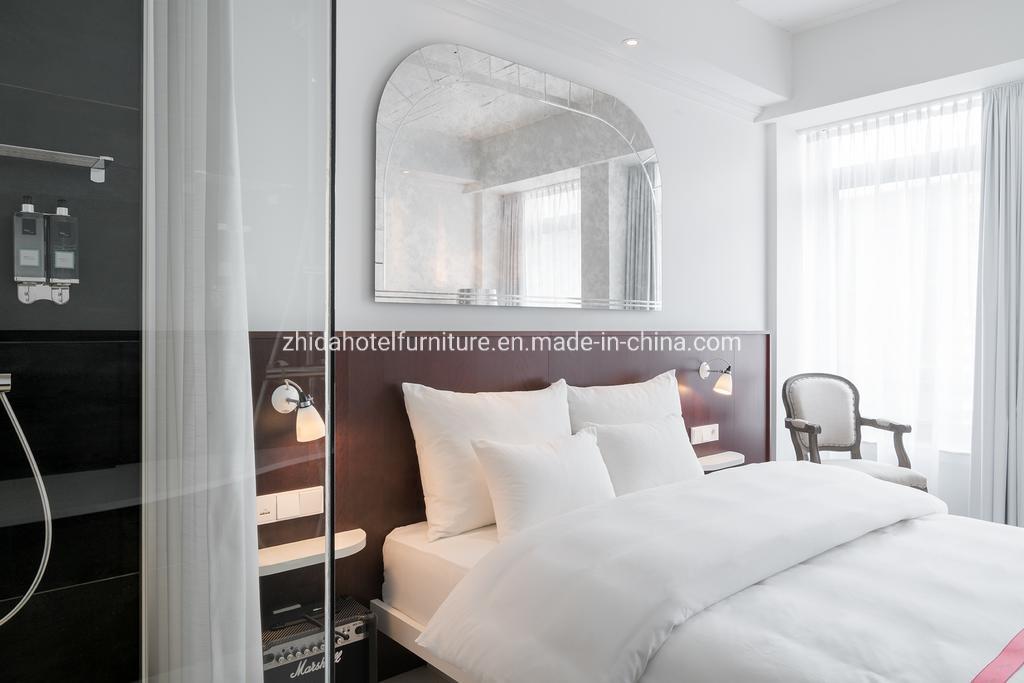 Chinese Commercial Modern Design 5 Star Hotel Bedroom Furniture China Hotel Bedroom Set King Size Bedroom Set