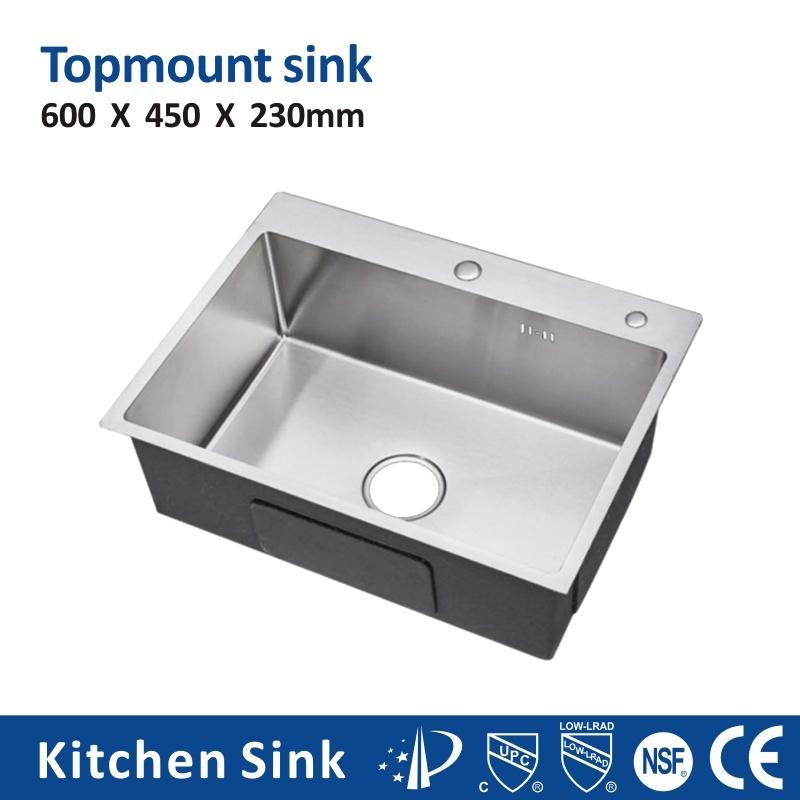 China Usa Uk R10 16gauge 33 Big Sinks Drop In Cabinet One Two Wash Basin Stainless Steel Finish Sink Glitter Glisten Handcraft For Kitchen Room Kitchen Sink China Hole Wash Sink