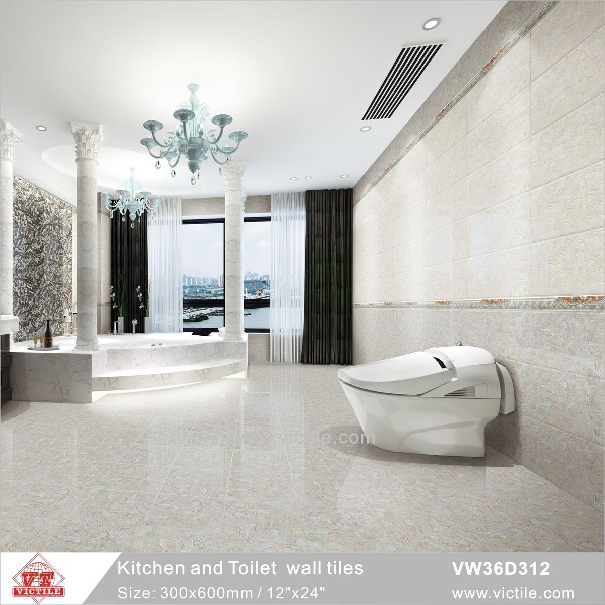 Beau China Foshan Decoration Material Ceramic Kitchen Bathroom Wall Tile  (VW36D312, 300X600mm/12u2032u2032x24u2032u2032)   China Porcelain Tile, Decoration Material