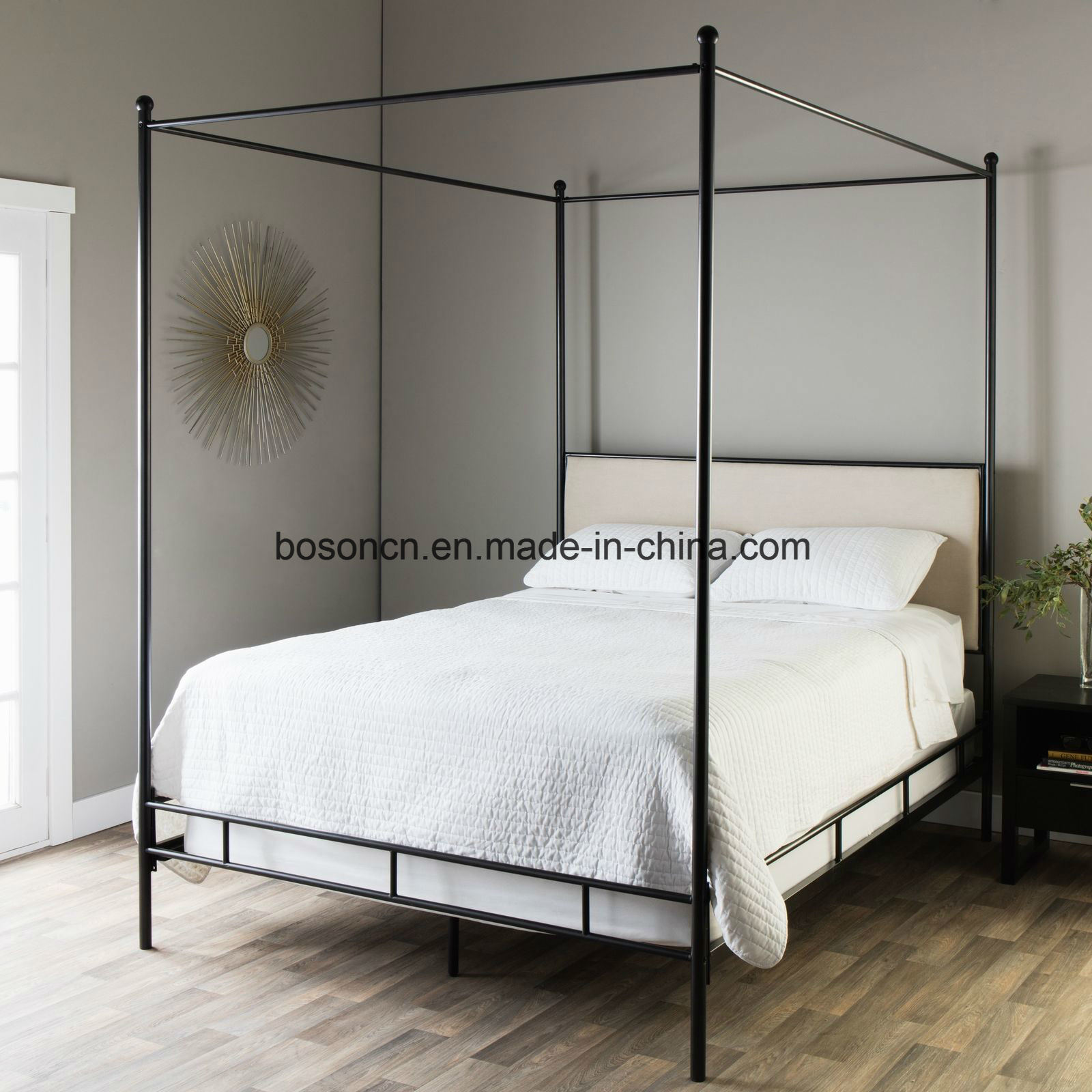 - China New Style Metal Canopy Bed - China Metal Canopy Bed, Metal