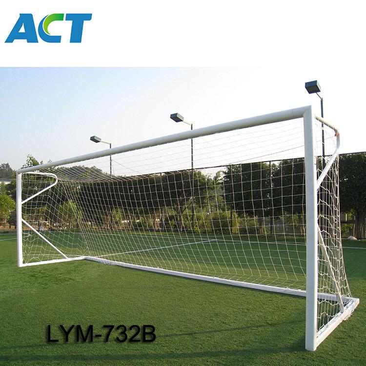24x8ft Football Full Size Soccer Goal Post Net Straight Flat Sport 7 3x2 4m 9h Sporting Goods Football