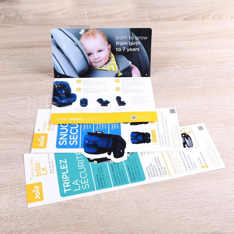 china cheap flull color pamphlet leaflet flyer offset booklet