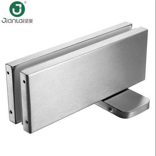 China Glass Door Floor Spring Hinge Hydraulic Patch Fitting With