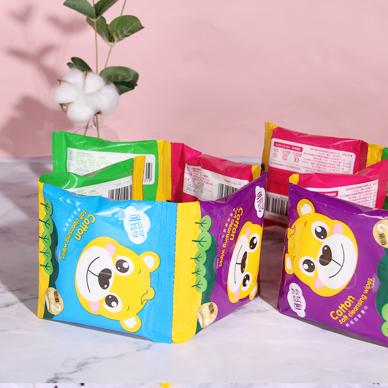 Cotton Baby Wipes Travel Size Baby Wipes