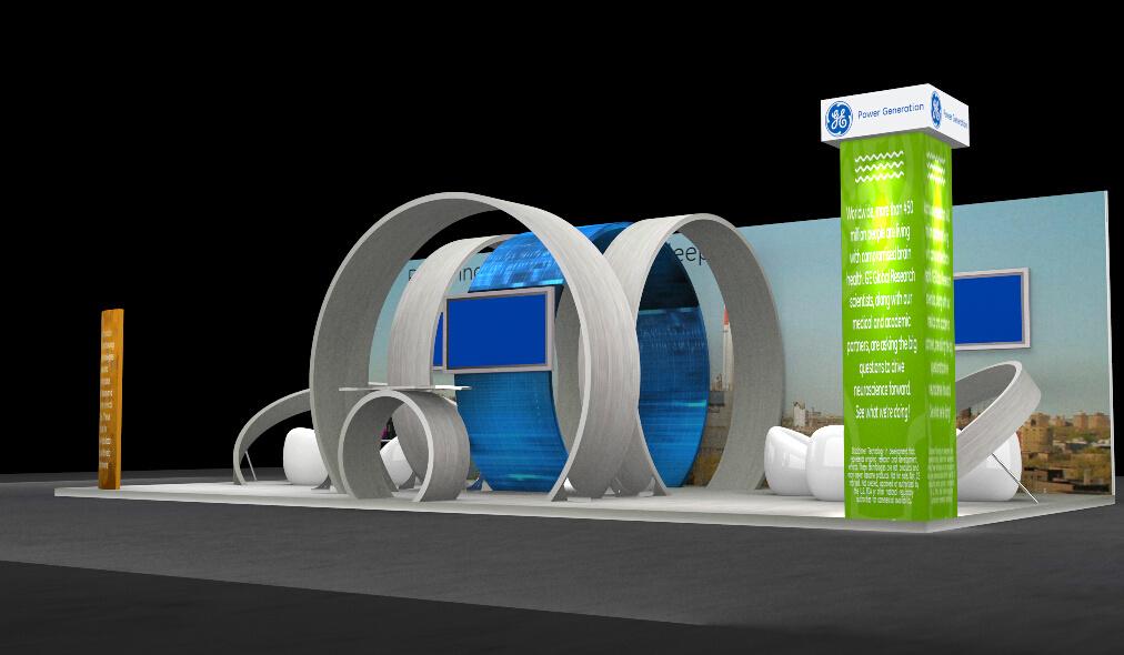 Trade Exhibition Stand Design : China latest customized aluminum exhibition stand design for trade