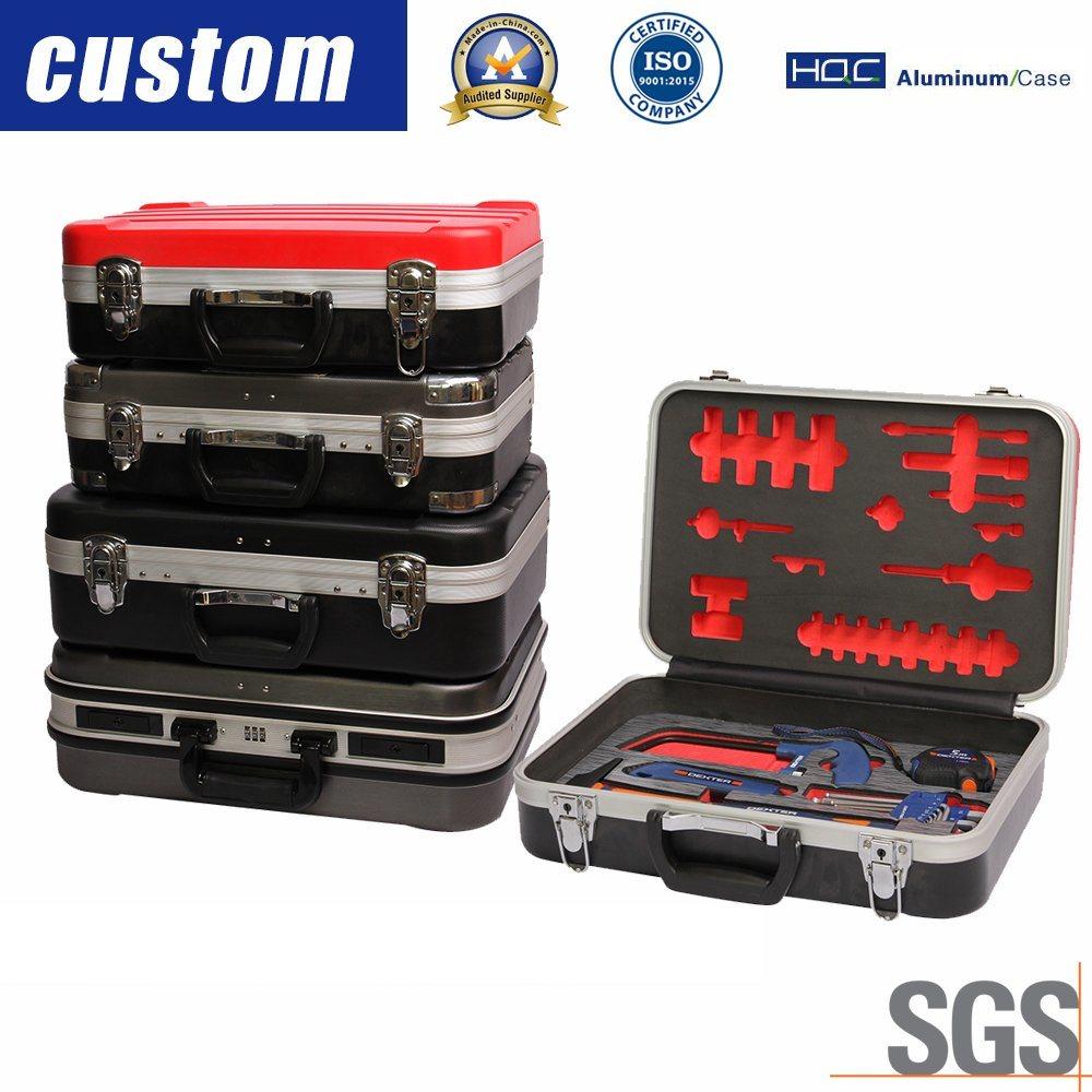 [Hot Item] Custom Plastic or Aluminum Instrument Case for Hardware Tool,  Camera, CD, DVD, Guitar, Gun