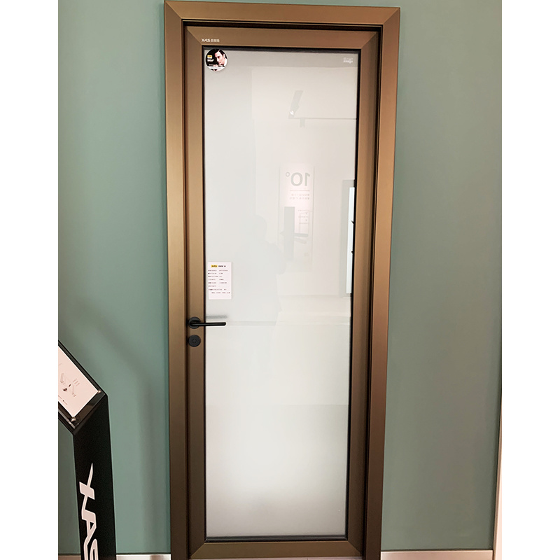China Modern Design Interior Aluminum Kitchen Swing Glass Door China Aluminum Kitchen Swing Door Aluminium Glass Door
