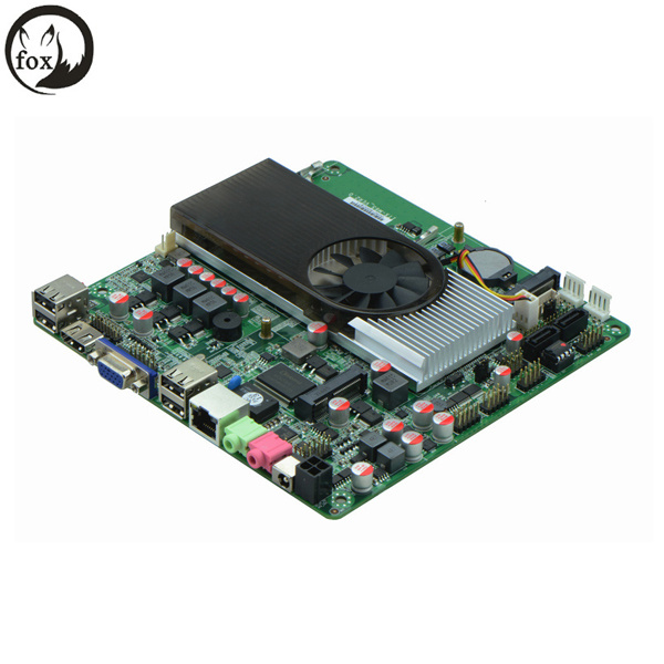 [Hot Item] All-in-One Motherboard with AMD E450/N550, 1*VGA, 2*24bit Lvds,  8 USB