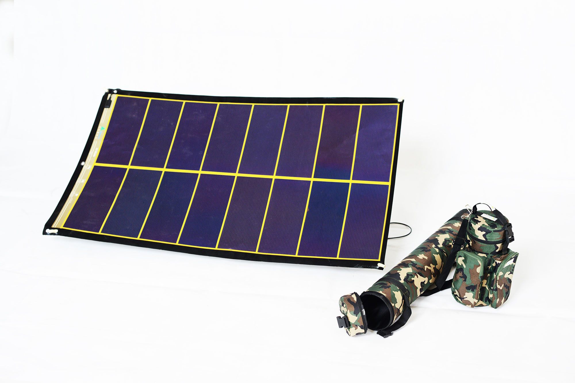 China 24v Flexible Rollable Solar Charger Pv Panel China