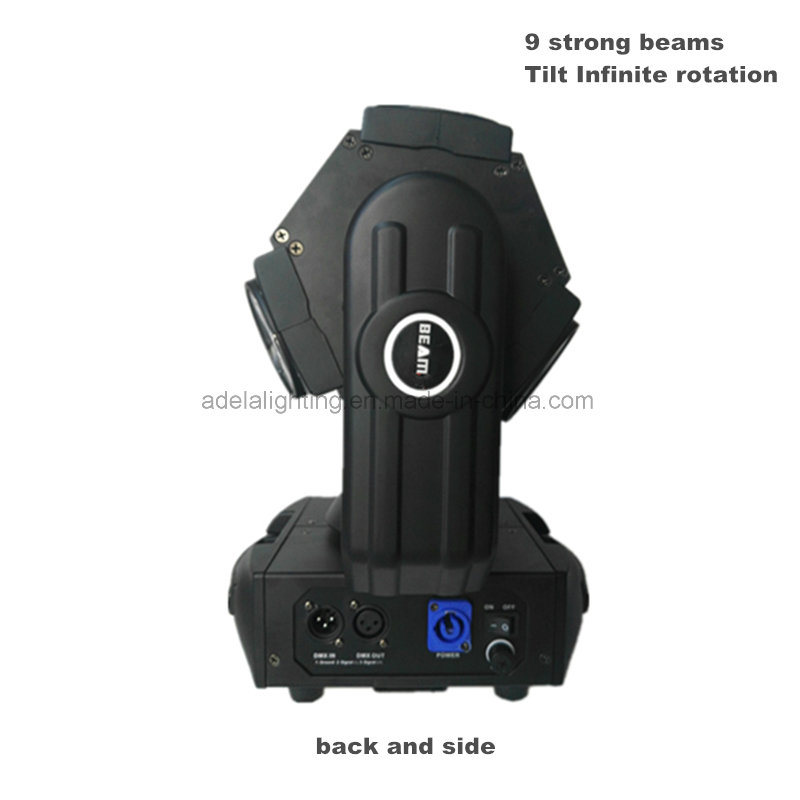 9X12W Infinite Phantom Beam Light LED Moving Head Spotlight