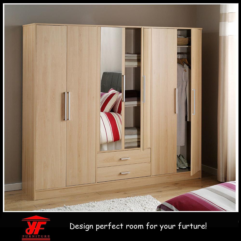 Hot Item Picture Of Luxury Modern Design Latest Bedroom Cabinet Wooden Wardrobe Door