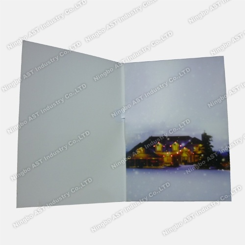 Greeting Cards with Flashing LED, Holiday Card pictures & photos