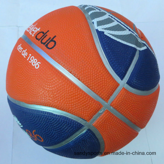 Durable Custom Sport Printing Rubber Ball Basketball pictures & photos