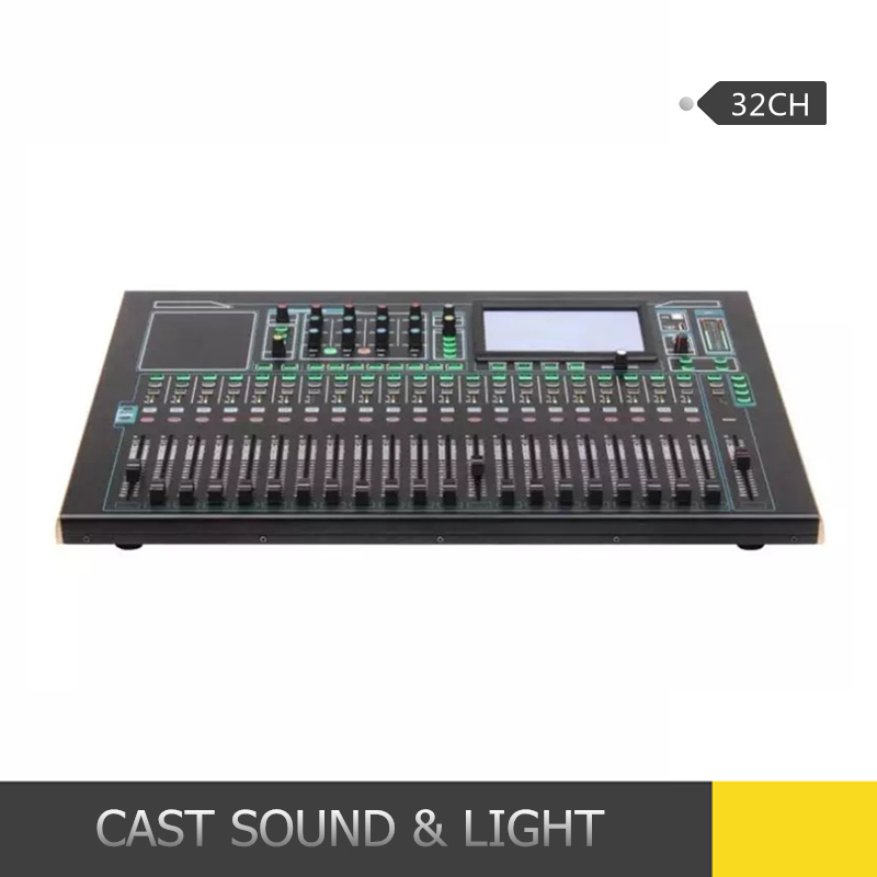 24CH/32CH Professional Digital Audio DJ Digital Mixer with Touch Screen pictures & photos